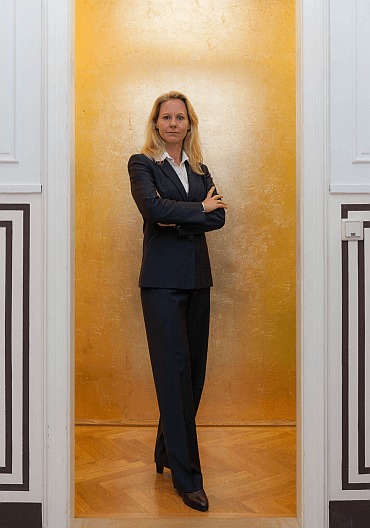 VORHERModel: Mag.a Alexandra Gerstl (Kundin)